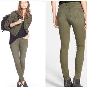 Rag & Bone Green Capri Skinny Jeans Pants Size 26